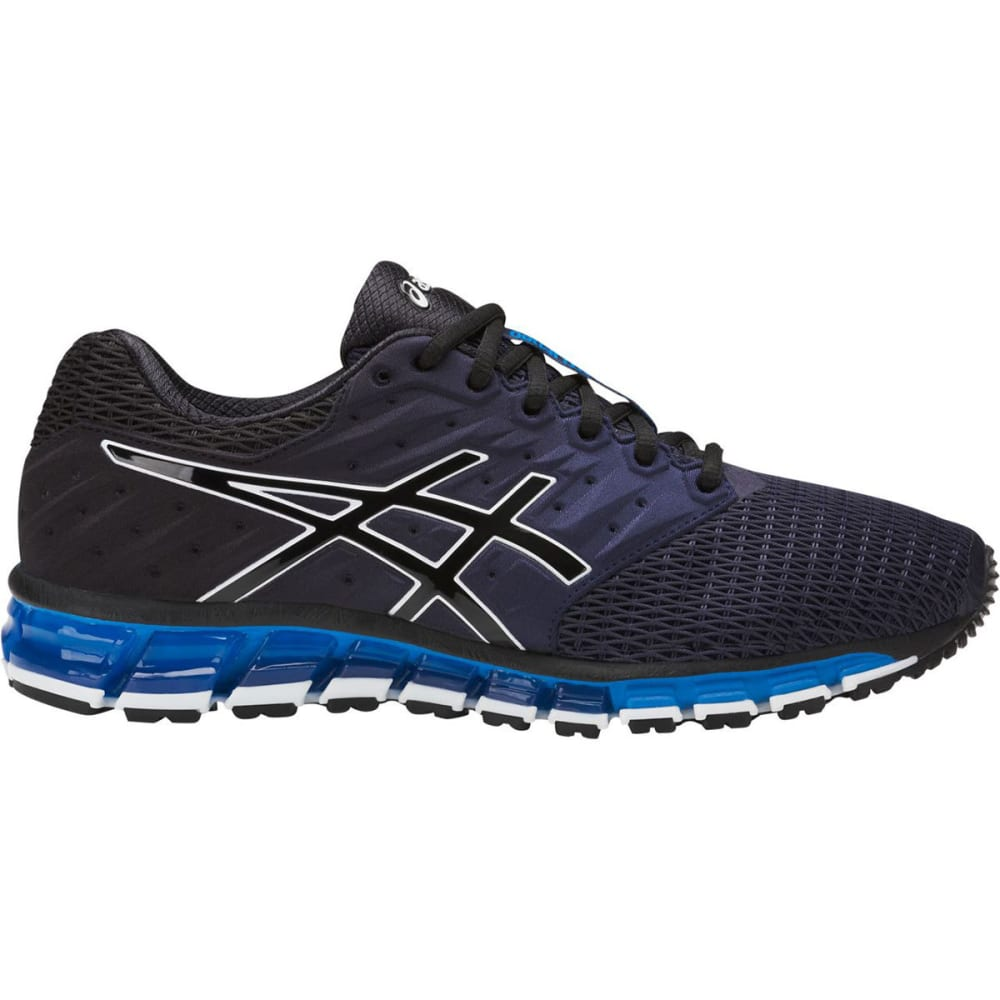 ASICS Men's GEL-Quantum 180 2 Running Shoes, Black/Royal - ROYAL BLUE