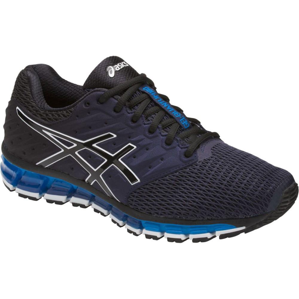 ASICS Men's GEL-Quantum 180 2 Running Shoes, Black/Royal 8