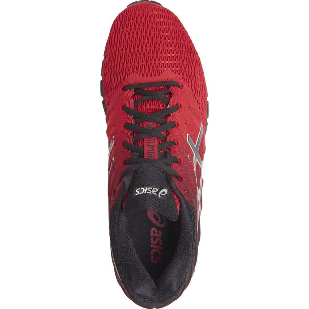 ASICS Men's GEL-Quantum 180 2 Running Shoes, Red/Black - RED