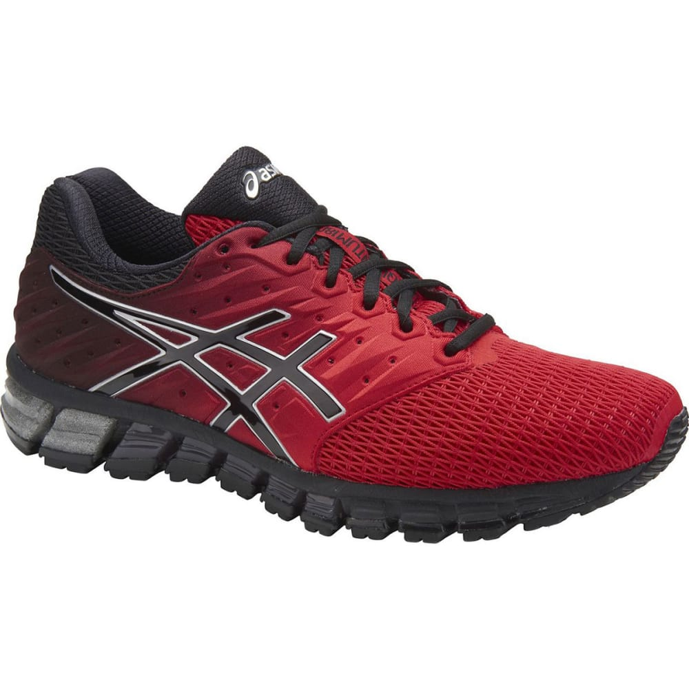 Asics Men's Gel-Quantum 180 2 Running Shoes, Red/black