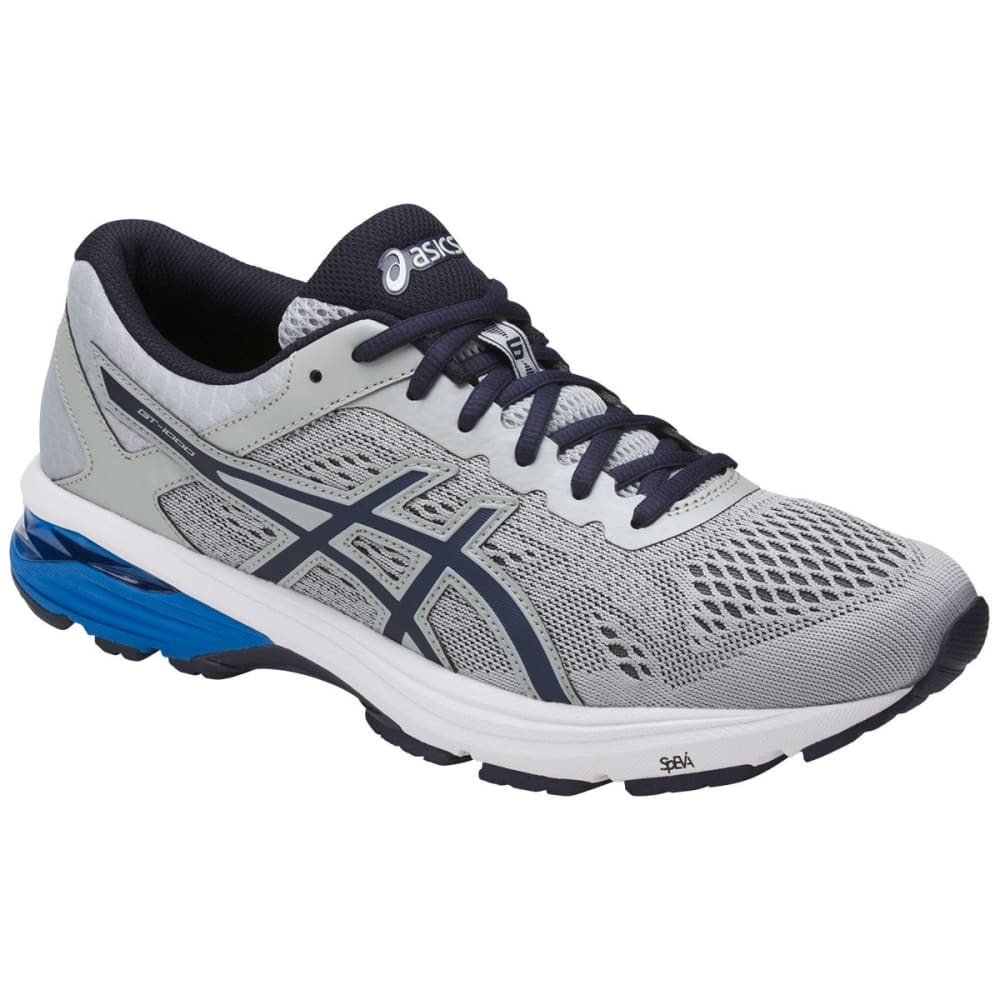 Asics Men's Gt-1000 6 Running Shoes, Grey/silver/royal