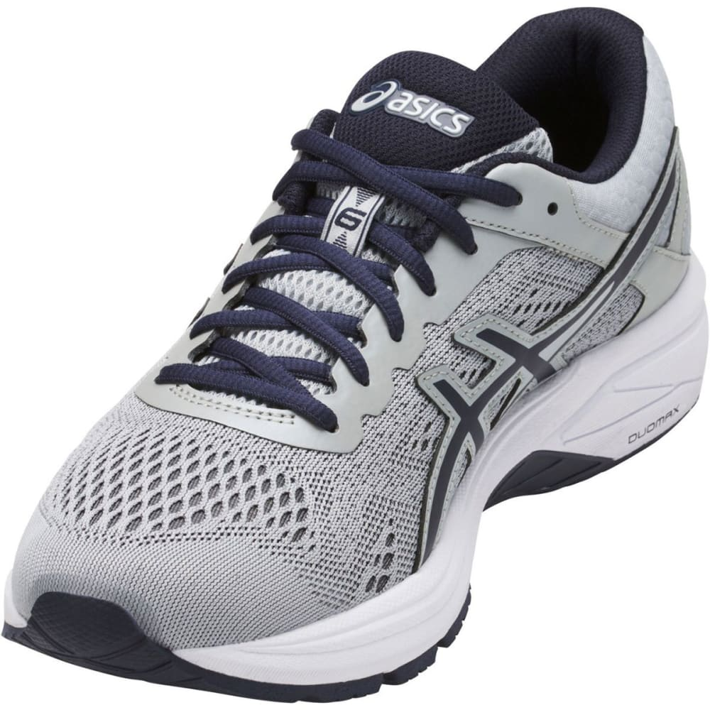ASICS Men's GT-1000 6 Running Shoes, Grey/Silver/Royal, Extra Wide - GREY