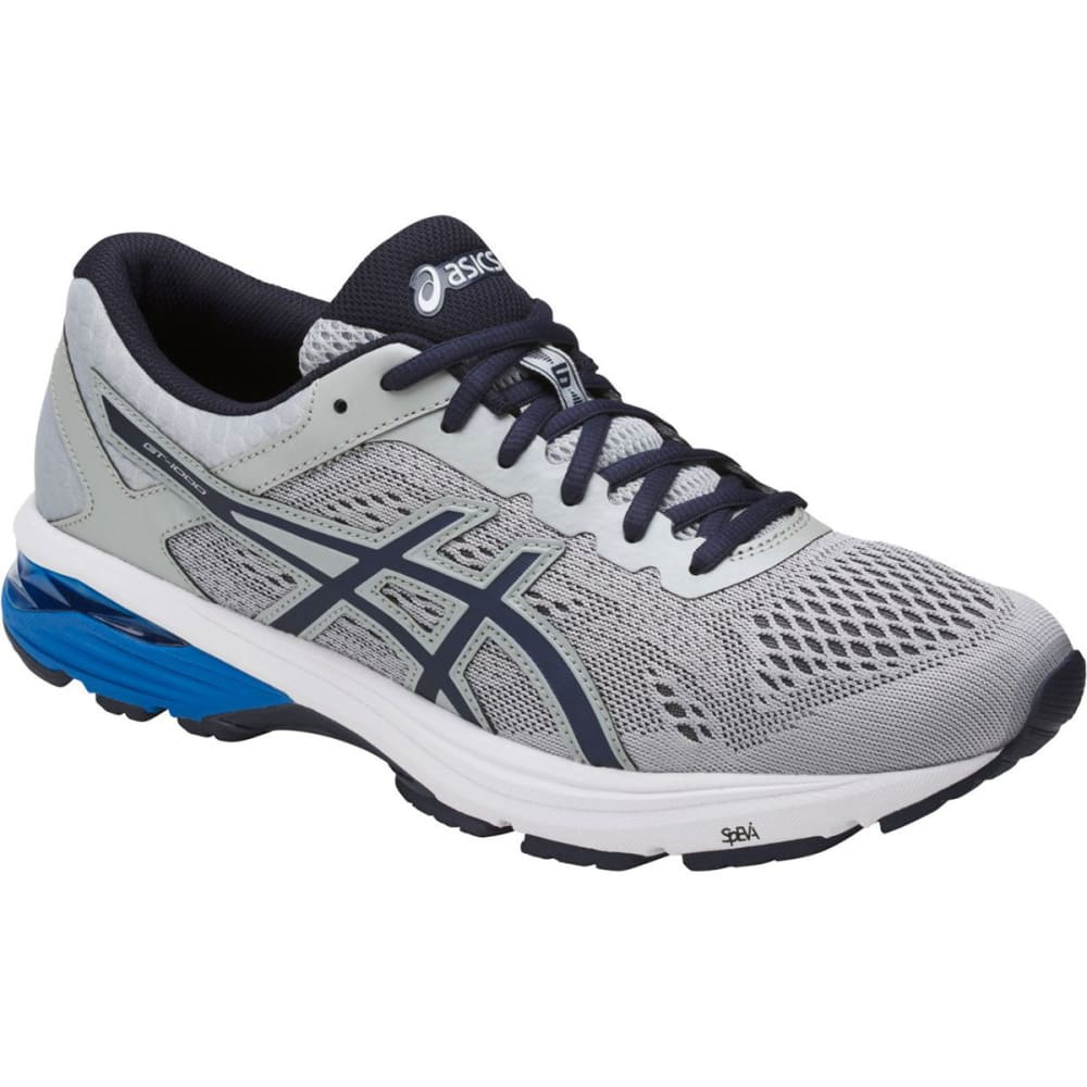 Asics Men's Gt-1000 6 Running Shoes, Grey/silver/royal, Extra Wide