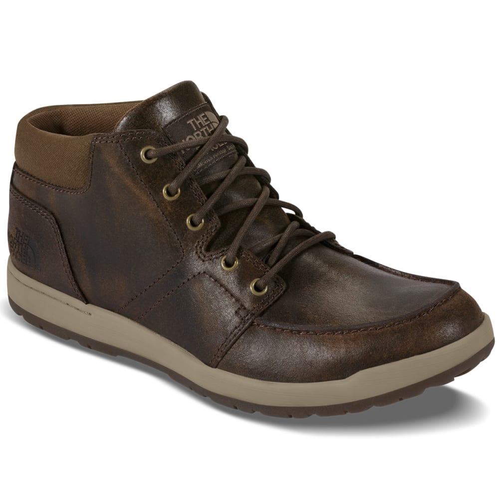 THE NORTH FACE Men's Ballard Evo Leather Low Chukka Boots, Demitasse Brown - DEMITASSE BROWN