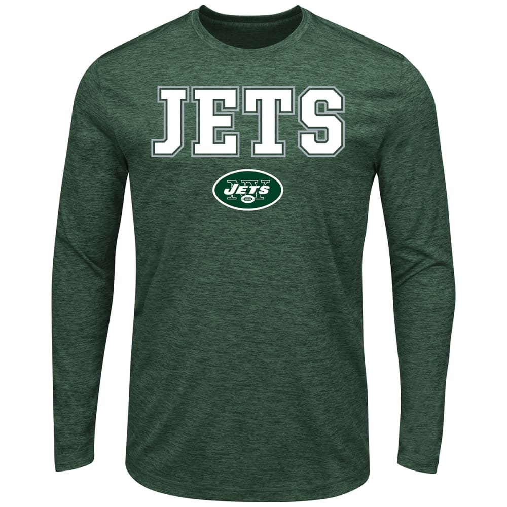 NEW YORK JETS Men's Fierce Intensity Long-Sleeve Tee - DARK GREEN