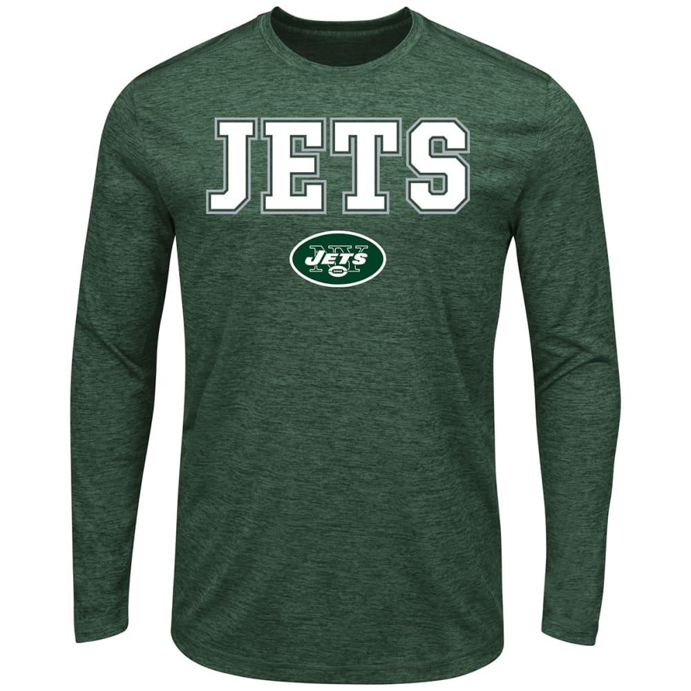 NEW YORK JETS Men's Fierce Intensity Long-Sleeve Tee M