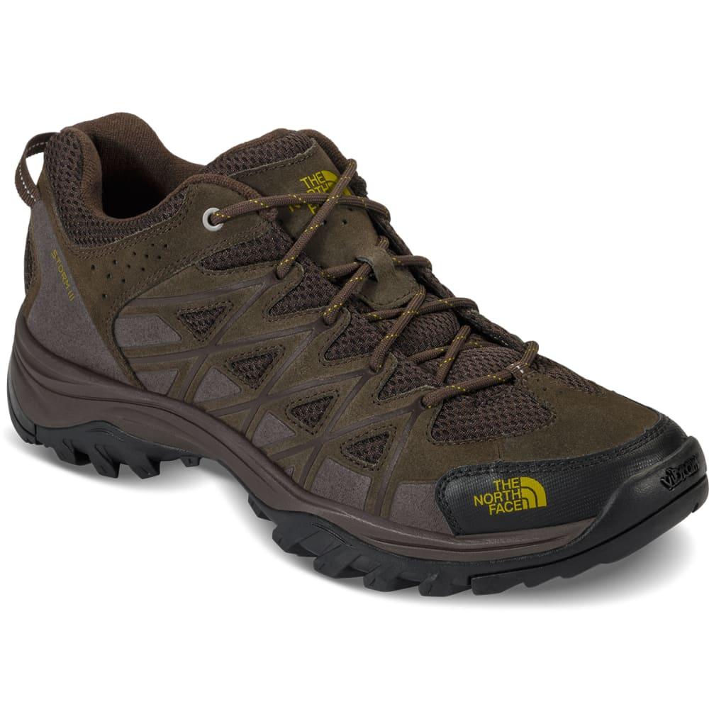 THE NORTH FACE Men's Storm III Low Hiking Shoes, Coffee Brown - COFFEE BROWN