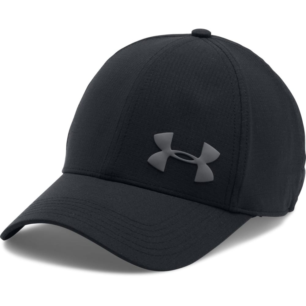 UNDER ARMOUR Men's ArmourVent€ž¢ Training Cap - 001-BLK/BLK/GRAPHITE