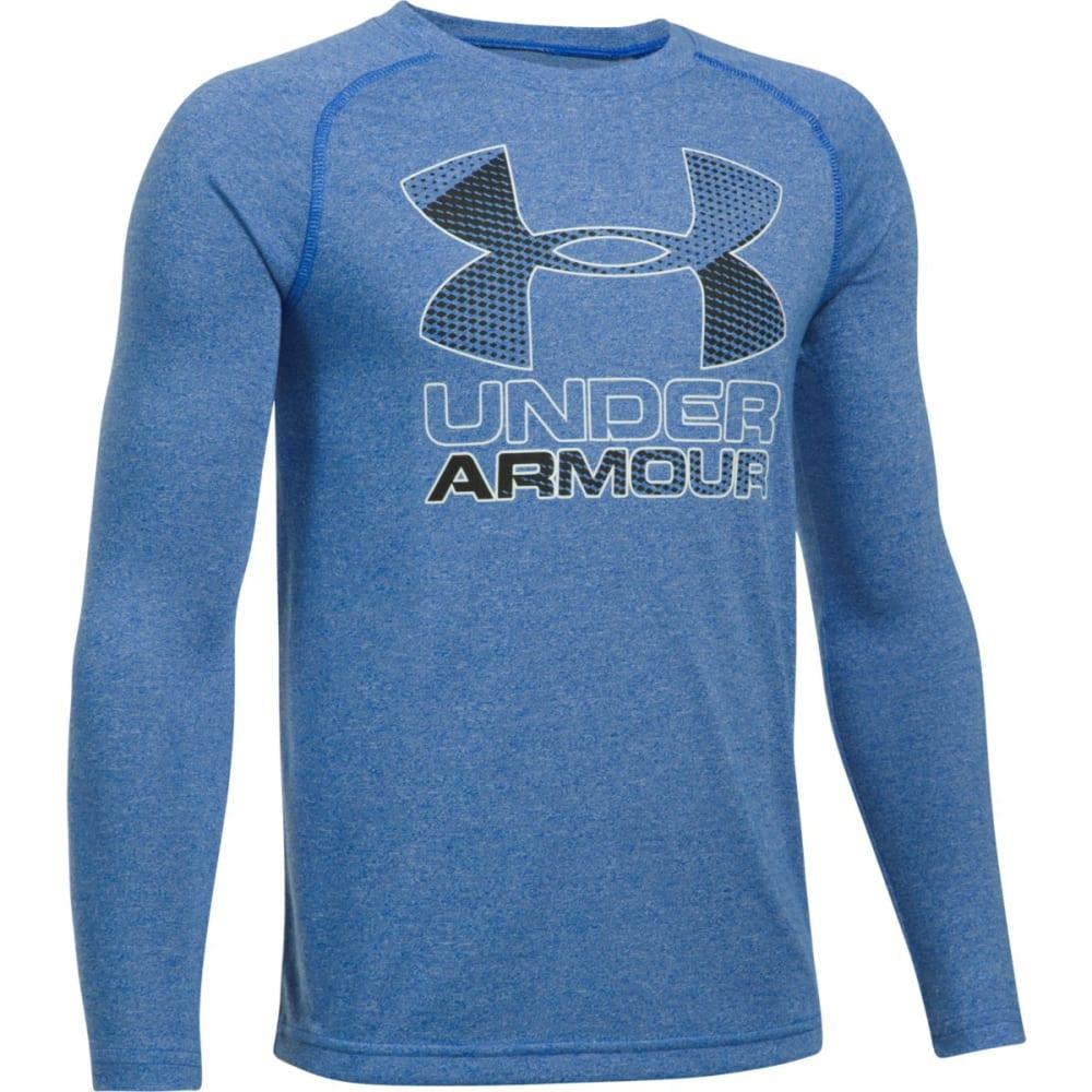 Under Armour Boys Hybrid Big Logo Long Sleeve t