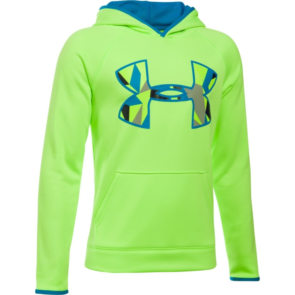 UNDER ARMOUR Boys' Armour Fleece Big Logo Hoodie S