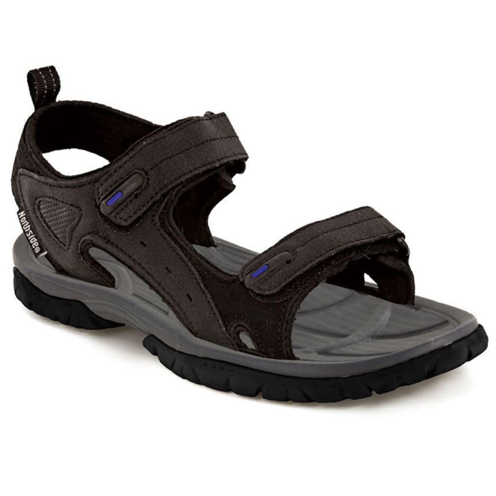 NORTHSIDE Men's Riverside Sandals, Black - BLACK