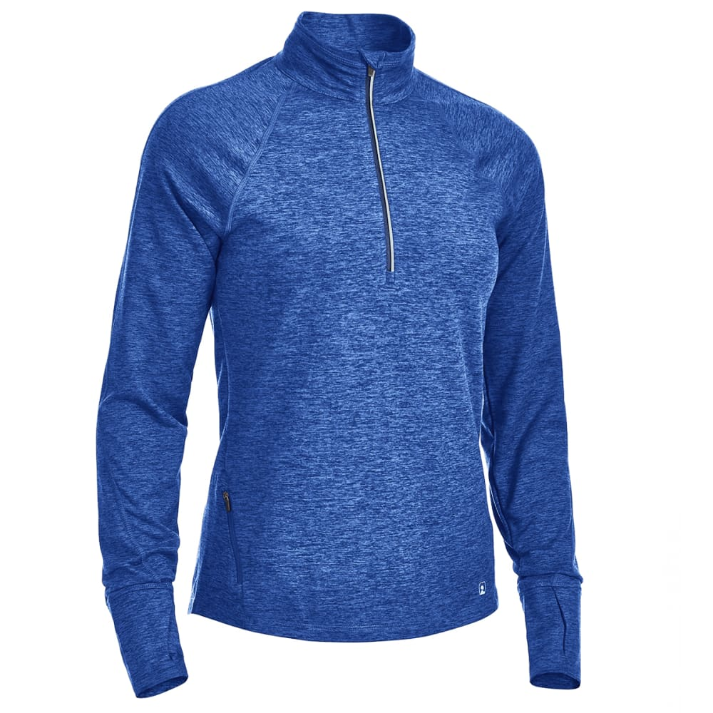 Ems(R) Women's Techwick(R) Transition 1/4-Zip Pullover - Blue, XS