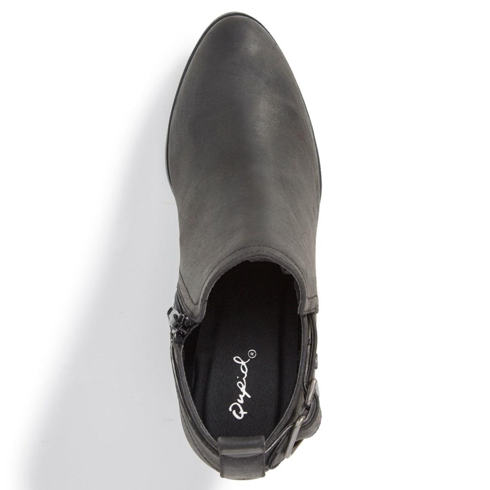QUPID Women's Travis-01 Ankle Booties - BLACK