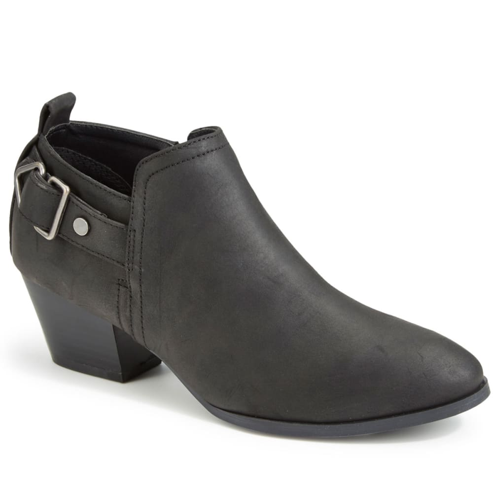 QUPID Women's Travis-01 Ankle Booties - BLACK