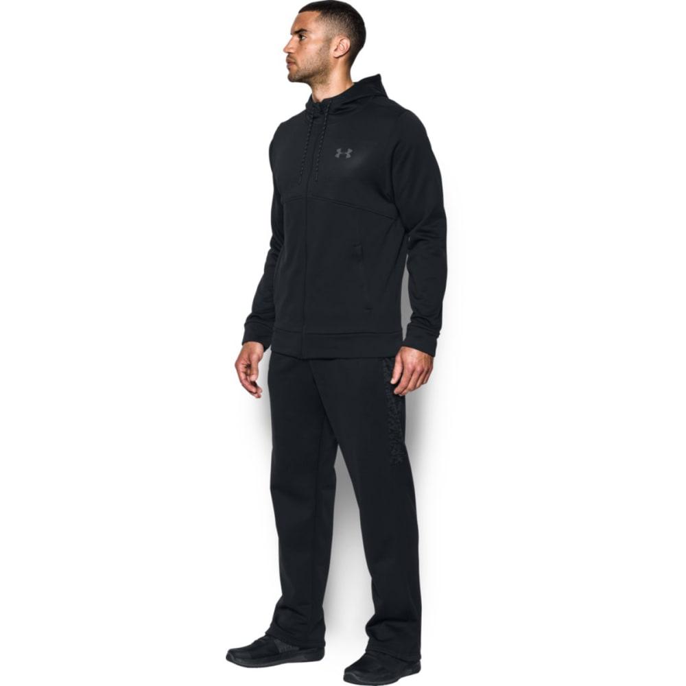 UNDER ARMOUR Men's UA Storm Armour® Fleece Full-Zip Hoodie - BLACK/BLACK-001