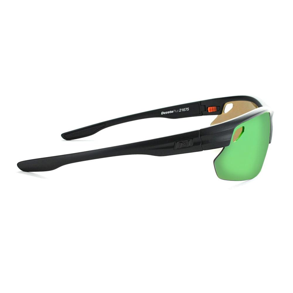 OPTIC NERVE Desoto Plus Flip Off Sunglasses, Matte Black - MATTE BLACK