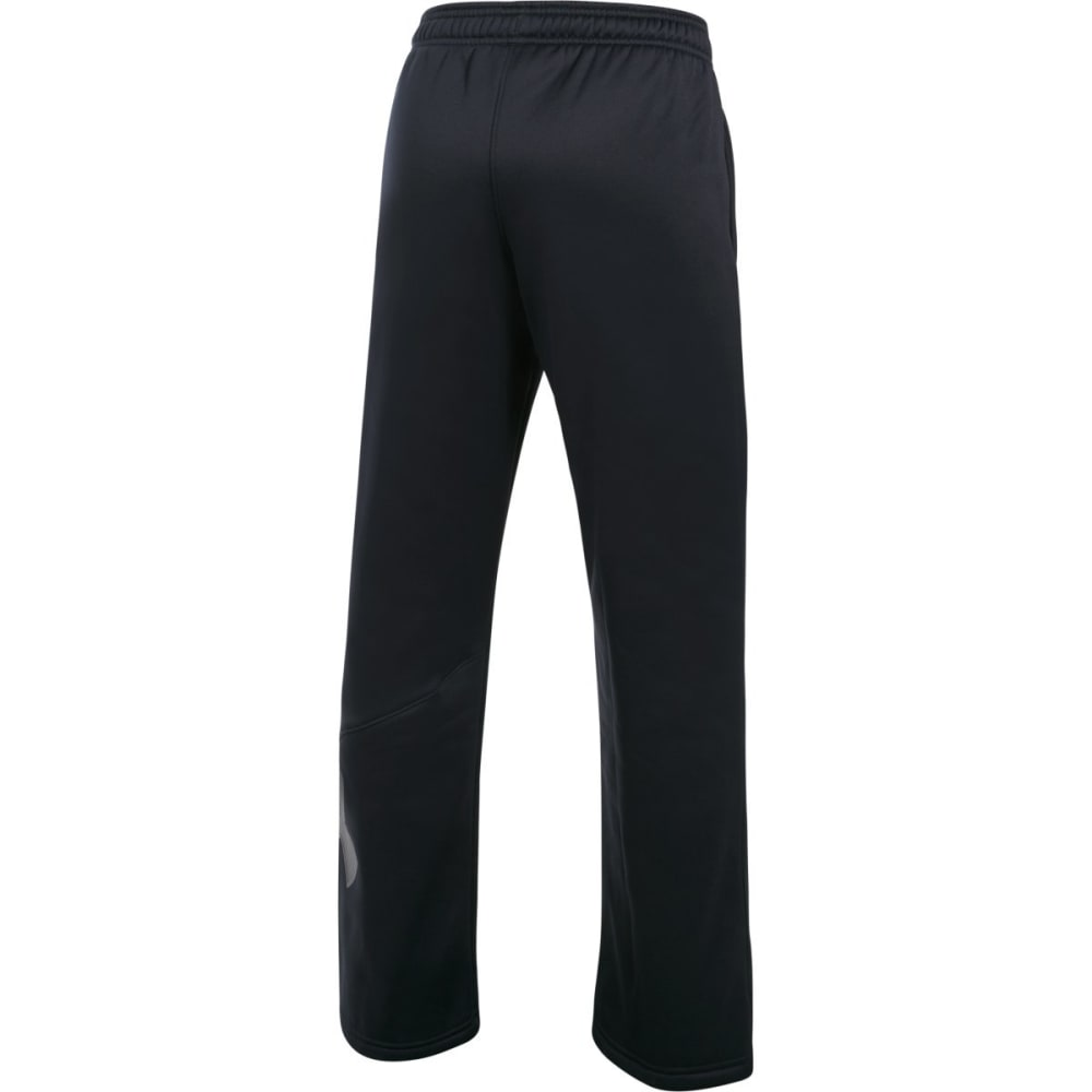 UNDER ARMOUR Big Boys' UA Storm Armour Fleece Big Logo Pants - 001-BLACK/GRAPH