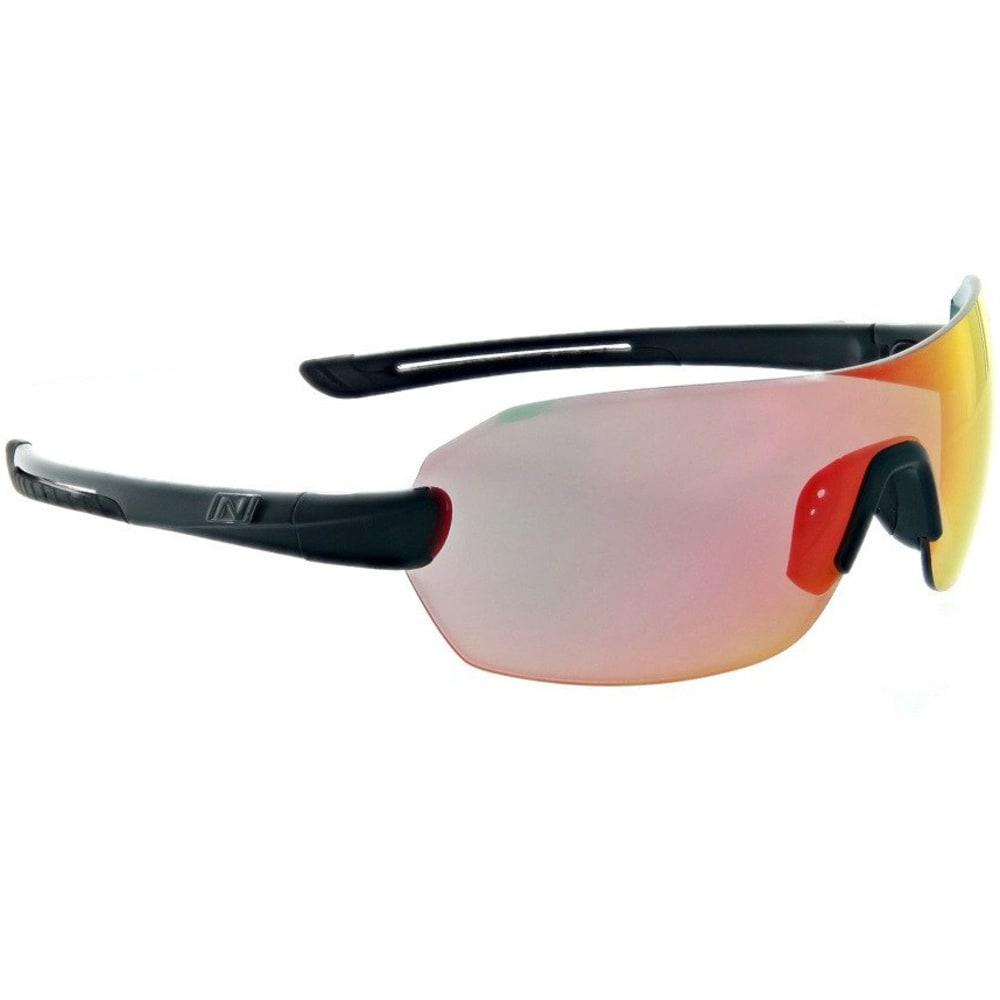 Optic Nerve Overcast Flip Off Sunglasses, Matte Black