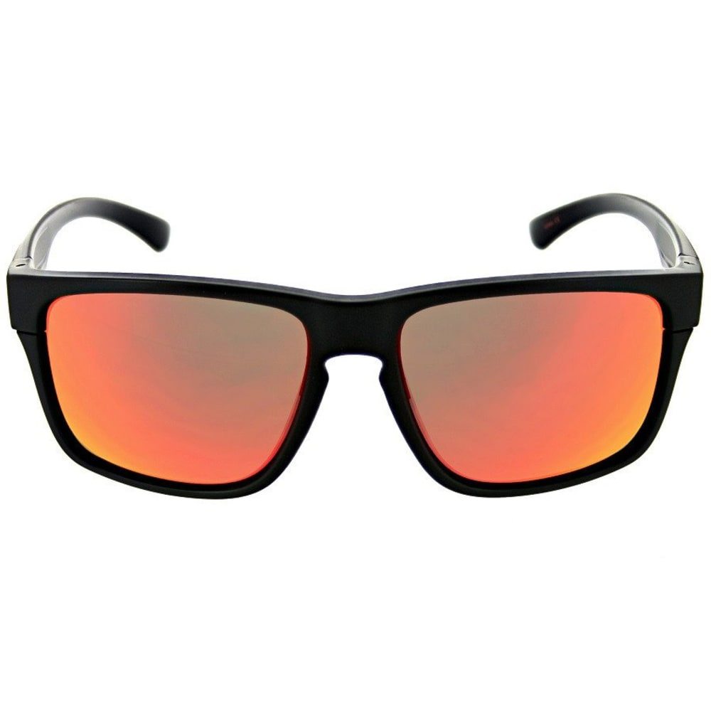 OPTIC NERVE Nightcrawler Flip Off Sunglasses, Matte Black - MATTE BLACK