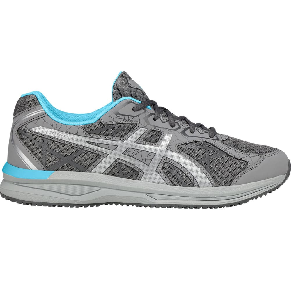Asics Women's Endurant Running Shoes, Aluminum/silver/aquarium - Black, 6