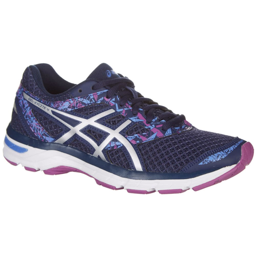 Asics Women's Gel-Excite 4 Running Shoes, Indigo Blue/orchid