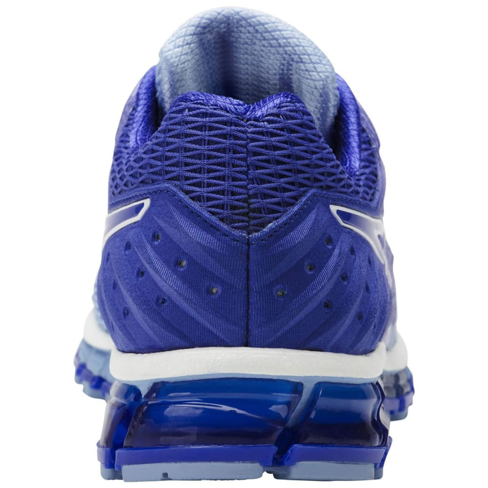 ASICS Women's GEL-Quantum 180 2 Running Shoes, Airy Blue/Blue Purple/White - AIRY BLUE-3948