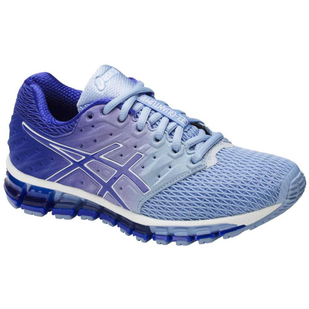 Asics Women's Gel-Quantum 180 2 Running Shoes, Airy Blue/blue Purple/white
