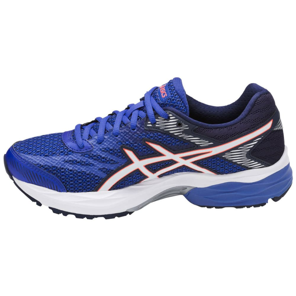 ASICS Women's GEL-Flux 4 Running Shoes, Blue Purple/White/Indigo Blue - BLUE PURPLE