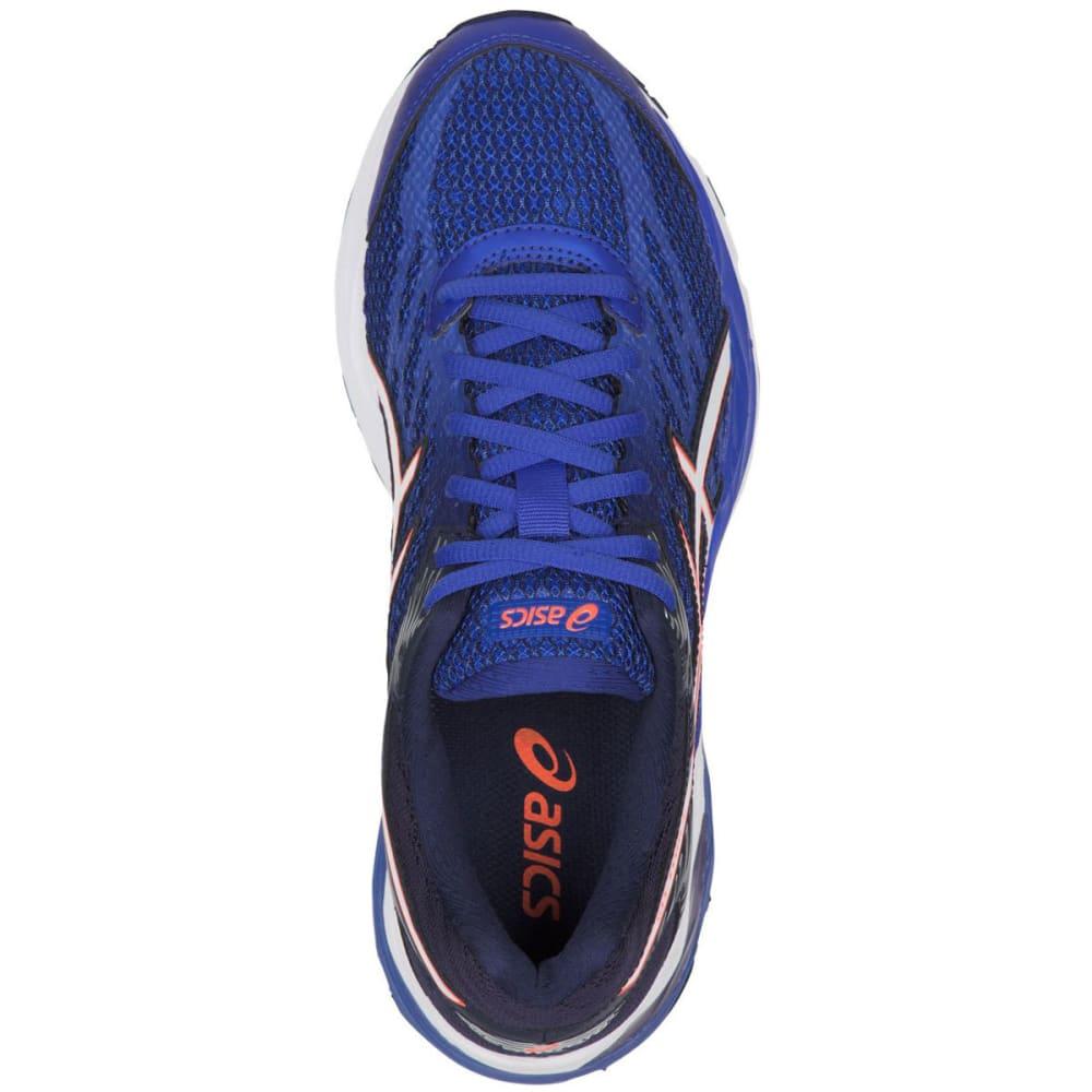 ASICS Women's GEL-Flux 4 Running Shoes, Blue Purple/White/Indigo Blue - BLUE PURPLE