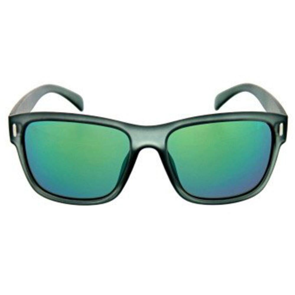 ONE BY OPTIC NERVE Kingston Sunglasses, Matte Crystal Grey - MATTE CRYSTAL GREY