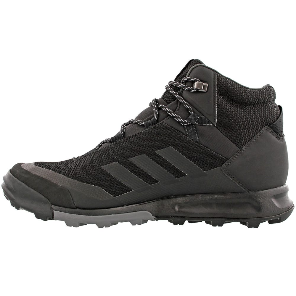 ADIDAS Men's Terrex Tivid Mid CP Hiking Boots, Black/Grey - GREY/BLACK