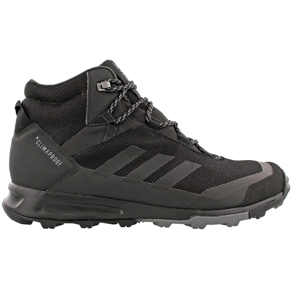 ADIDAS Men's Terrex Tivid Mid CP Hiking Boots, Black/Grey 10.5