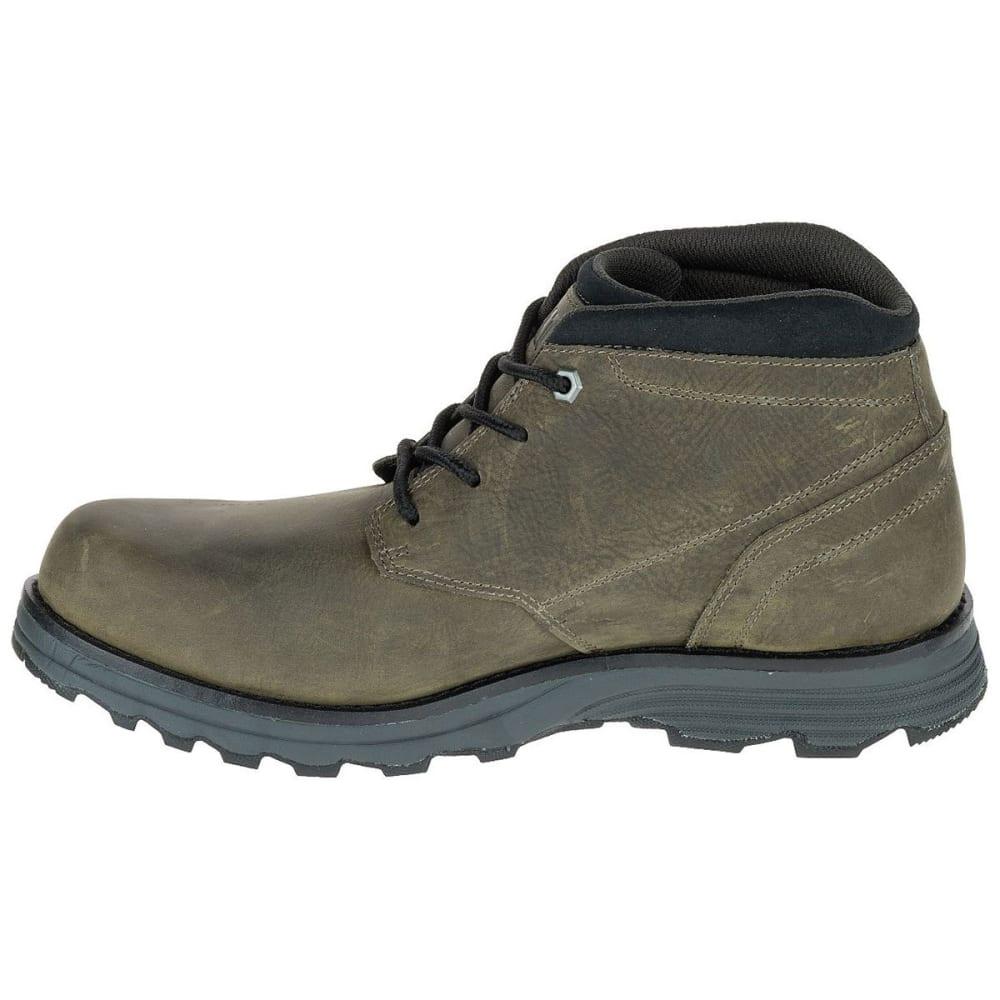 CATERPILLAR Men's Elude Chukka Waterproof Soft-Toe Work Boots, Green - BUNGE CORD