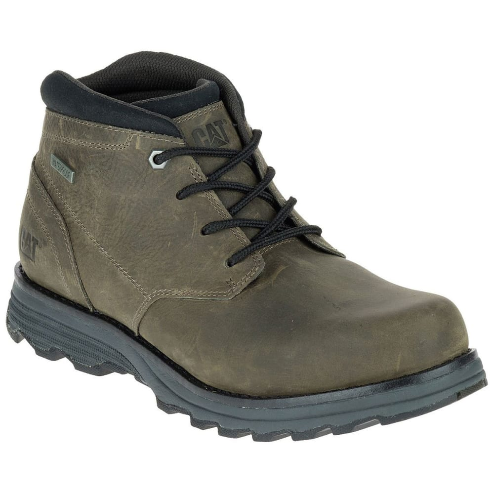 CATERPILLAR Men's Elude Chukka Waterproof Soft-Toe Work Boots, Green