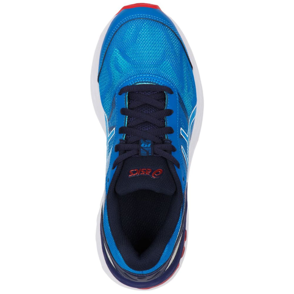 ASICS Boys' GEL-Nimbus® 19 GS Running Shoes, Diva Blue/White/Indigo Blue - DIVA BLUE