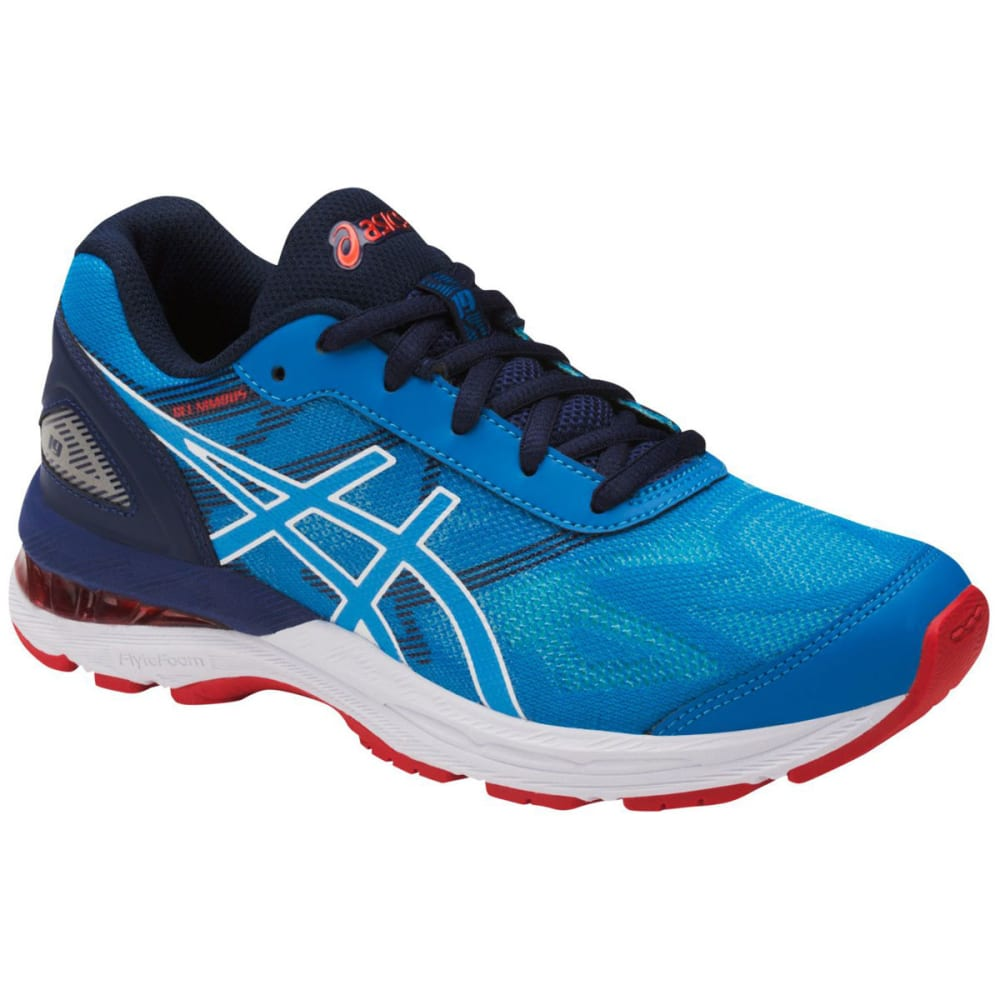 Asics Boys Gel-Nimbus(R) 19 Gs Running Shoes, Diva Blue/white/indigo Blue