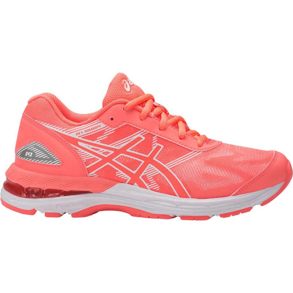 ASICS Girls' GEL-Nimbus® 19 GS Running Shoes, Flash Coral/White - CORAL