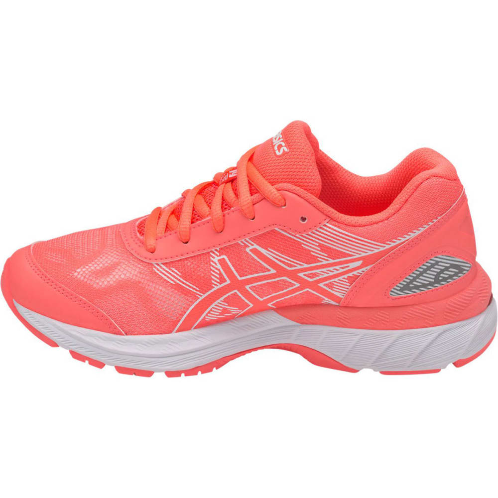 ASICS Girls' GEL-Nimbus® 19 GS Running Shoes, Flash Coral/White - CORAL