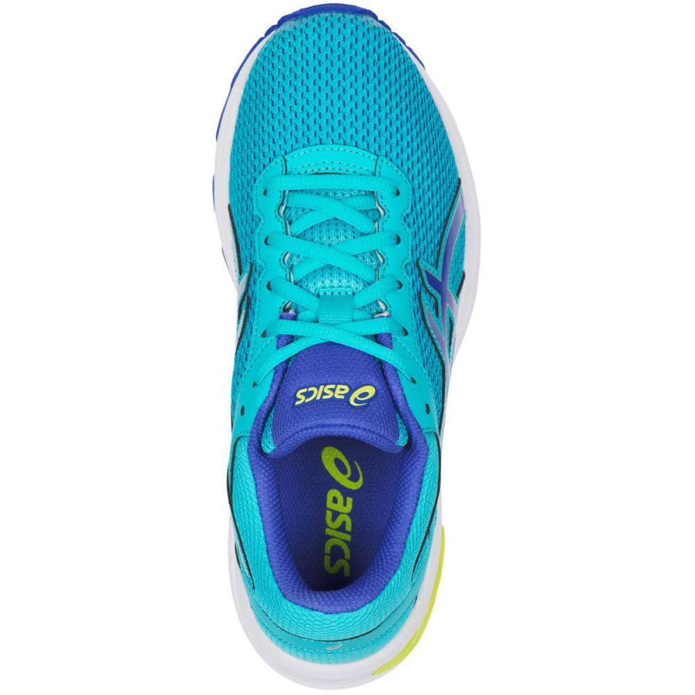 ASICS Girls' GT-1000 6 GS Running Shoes, Aquamarine/Blue Purple/Neon Lime - TURQUOISE