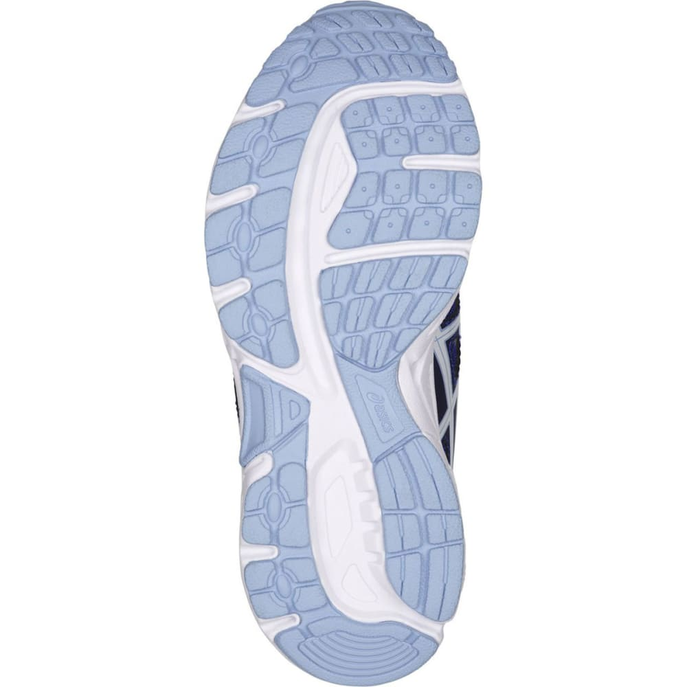 ASICS Girls' PRE-Contend 4 PS Running Shoes, Blue Purple/White/Airy Blue - BLUE PURPLE