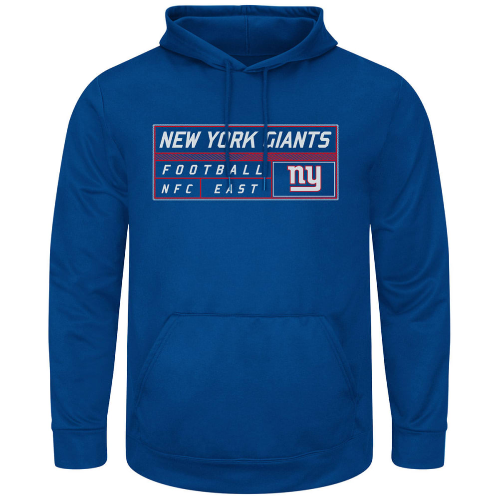 NEW YORK GIANTS Men's Startling Success Pullover Hoodie - STADIUM BLUE