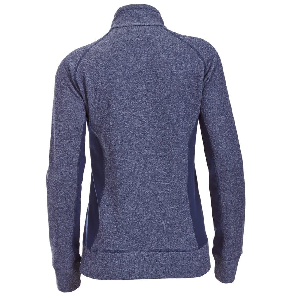 EMS® Women's Destination Hybrid Full-Zip Sweater Jacket - BLUE NIGHTS