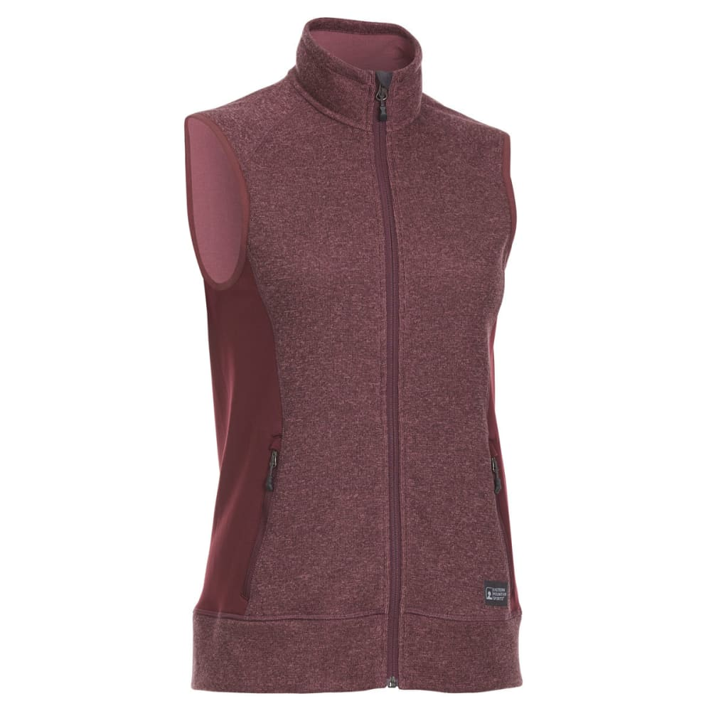 EMS Women's Destination Hybrid Sweater Vest - PORT ROYALE
