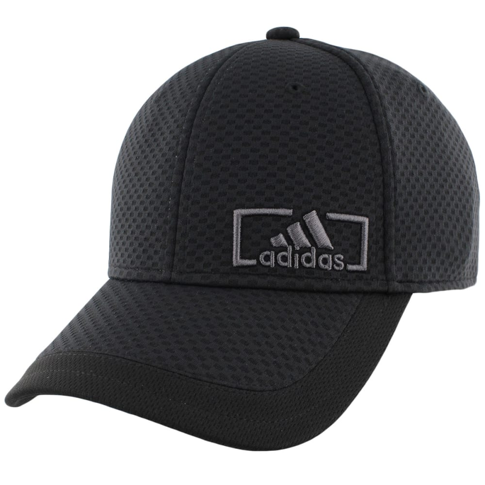 Adidas Men's Amplifier Stretch Fit Cap - Black, L/XL
