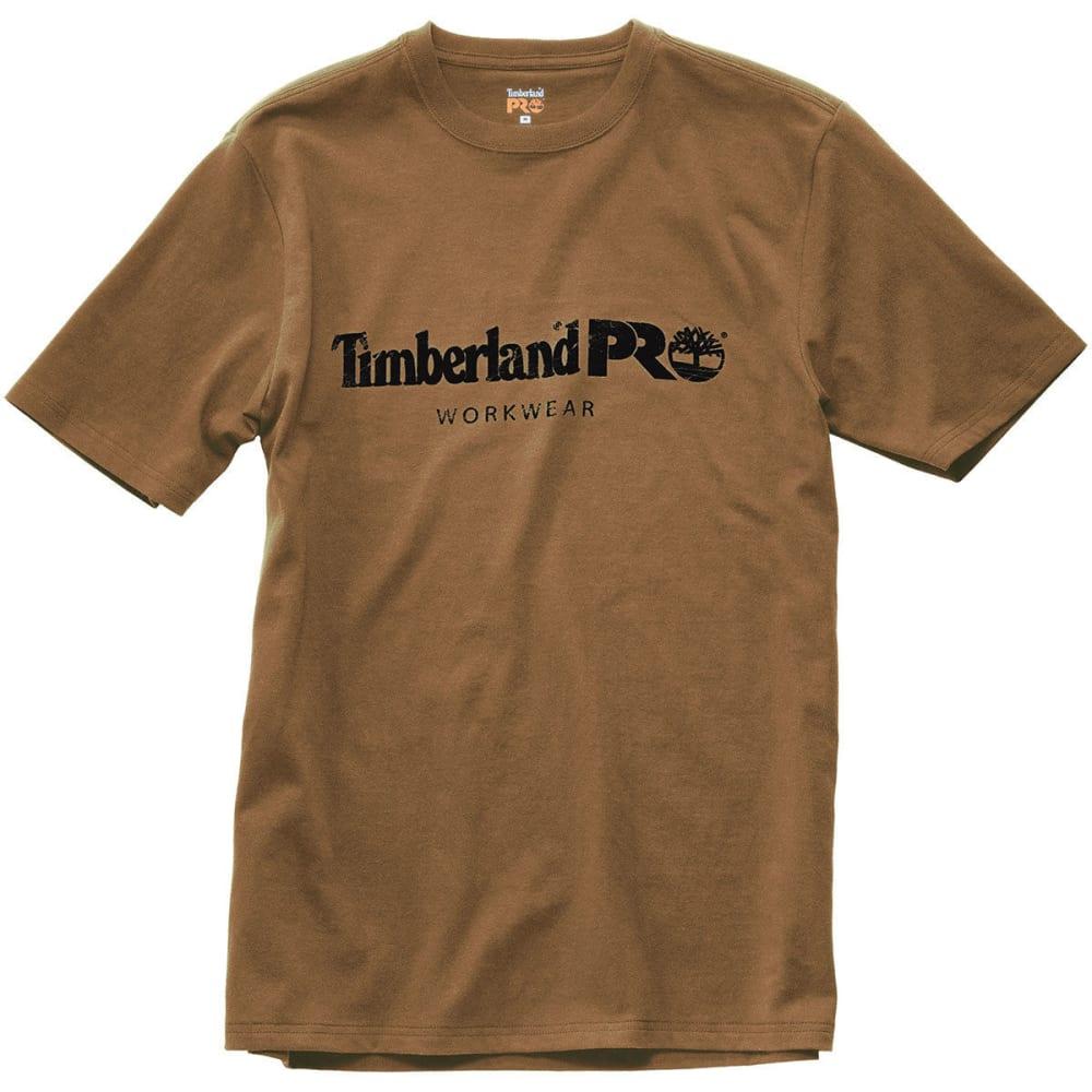 TIMBERLAND PRO Men's Core Cotton Graphic Short-Sleeve Tee - D02 DK WHEAT