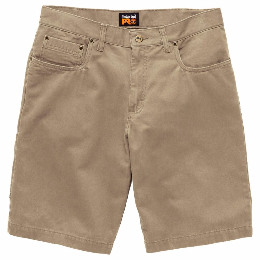 TIMBERLAND PRO Men's Son-of-a-Short Canvas Work Shorts - 232 KHAKI