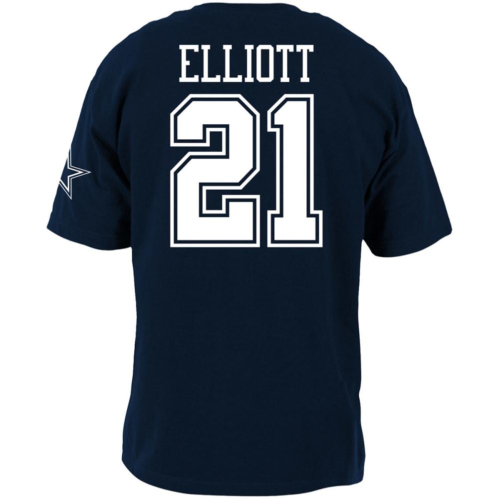 DALLAS COWBOYS Men's Ezekiel Elliott #21 Player Short-Sleeve Tee - NAVY