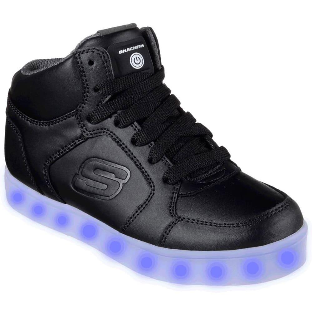 SKECHERS Boys' S Lights: Energy Lights Sneakers, Black - BLACK