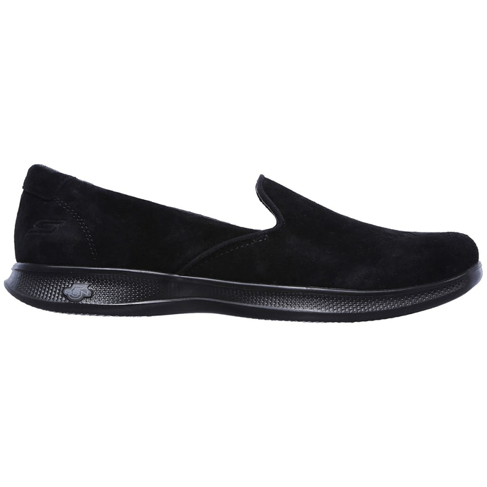 "SKECHERS Women's Go Step Lite """" Indulge Casual Slip-On Shoes, Black - BLACK"