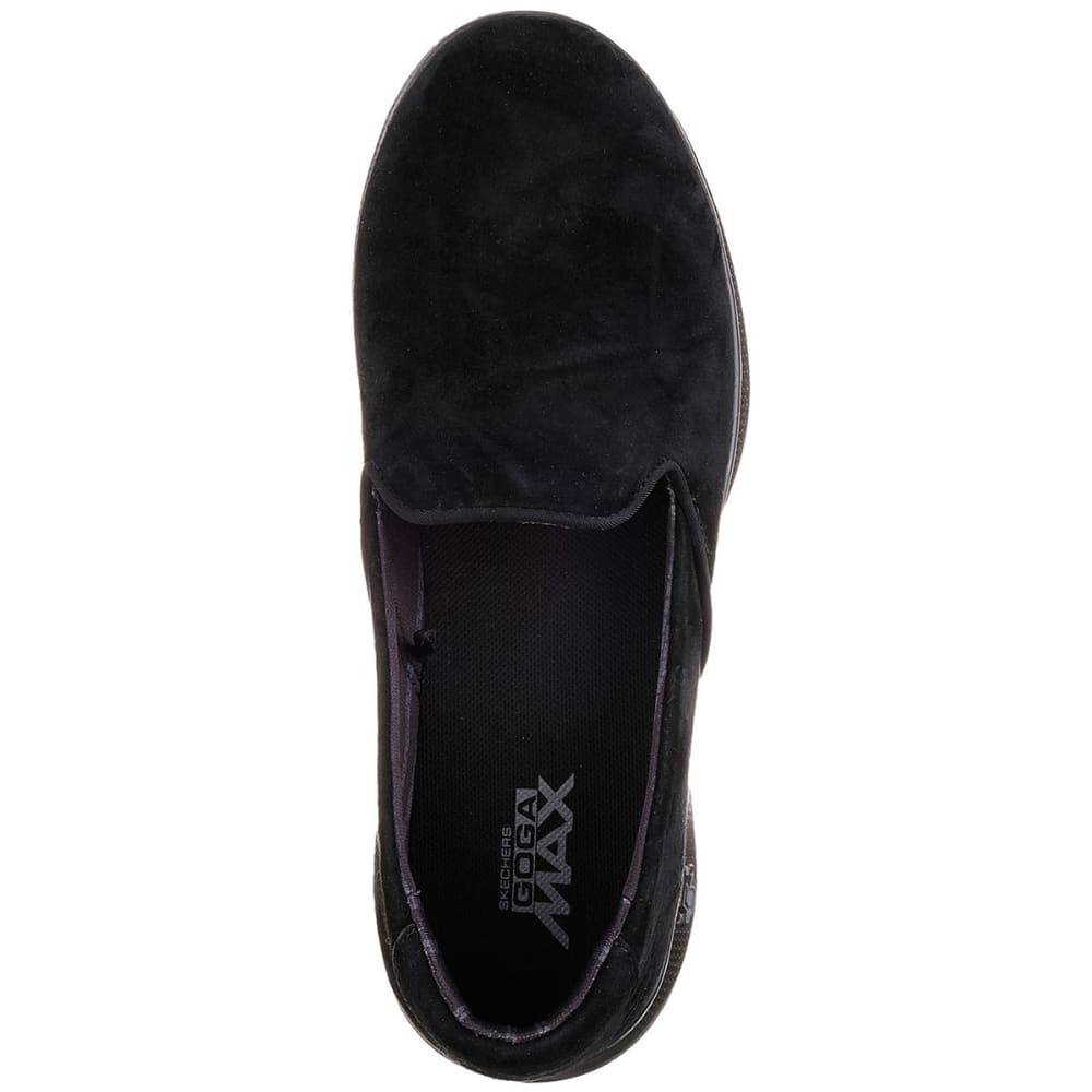SKECHERS Women's Go Step Lite – Indulge Casual Slip-On Shoes, Black - BLACK